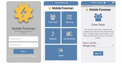 Mobile Foreman